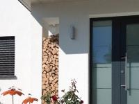 Schöne Gestaltung durch Terrazzo Eingangs-Podest