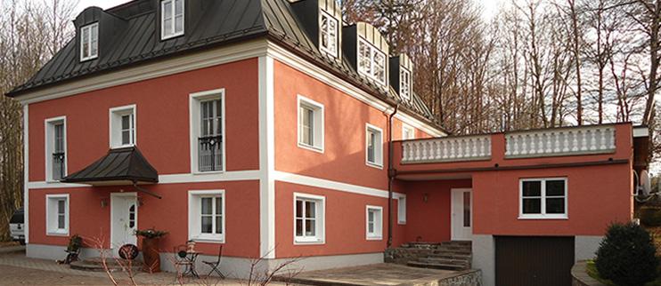 Außenfassade, Vollwärmeschutz